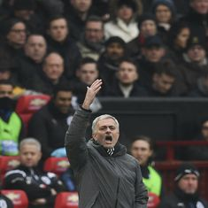 'It's not Portsmouth': Mourinho ticks off quiet home fans at Old Trafford