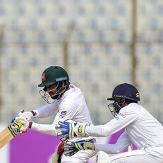 Mominul first Bangladesh batsman to score centuries in both innings as Test ends in draw