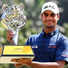 Shubhankar Sharma fires 10 birdies to clinch Malaysia title with ease