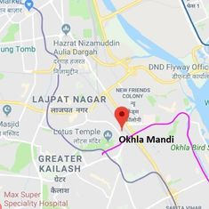 Delhi Police arrest gangster from Kasganj in Okhla Mandi after a shootout, his accomplice escapes