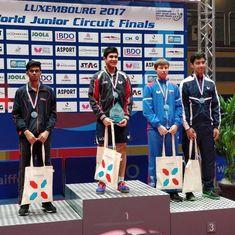 ITTF World Junior Circuit Finals: India's Manav Thakkar goes down fighting in final, bags silver