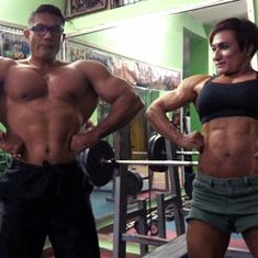 Video: Meet India's first bodybuilding couple whose shared passion has won them many medals