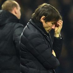 'Difficult to take a place in the Champions League': Chelsea boss Conte skeptical of top four finish