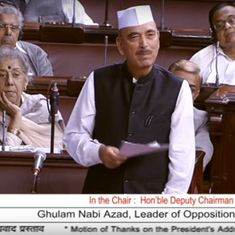 Opposition leaders are treated like terrorists, their phones are tapped, claims Ghulam Nabi Azad