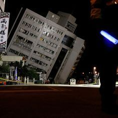 Five dead, over 200 injured in Taiwan after earthquake of magnitude 6.4 strikes Hualien city