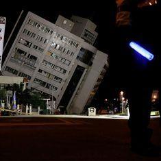 ताइवान में भूकंप से दो की मौत, 200 से ज्यादा घायल