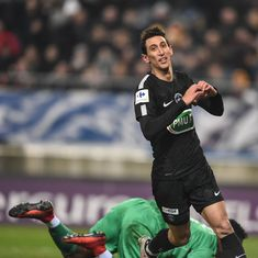 Angel Di Maria hat-trick powers PSG to French Cup quarters, Marseille thrash Bourg-en-Bresse