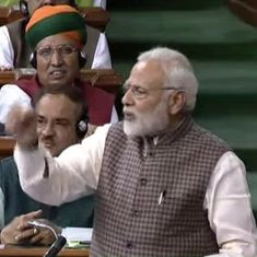 If Sardar Vallabhbhai Patel was the first PM, all of Kashmir would have been ours: Modi in Lok Sabha