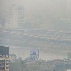 Haze engulfs Mumbai as air quality worsens