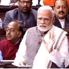 Congress wants the India of Bofors and chopper scams, says Narendra Modi in Rajya Sabha