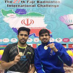Badminton: Francis Alwin and Nandagopal Kidambi win Iran International Challenge title