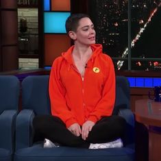 Watch: Rose McGowan broke many conventions in this TV interview with Stephen Colbert