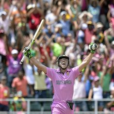 AB de Villiers and 'Pink ODIs' – a run-filled love story