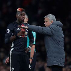 I never had one single problem with Pogba, says Mourinho after dropping midfielder