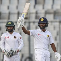 Roshen Silva fifty puts Sri Lanka on top in second Test against Bangladesh