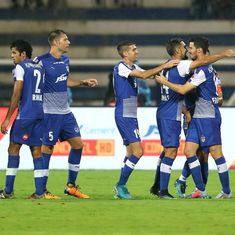 ISL: Bengaluru FC become first team to qualify for semi-finals after 2-0 win over FC Goa