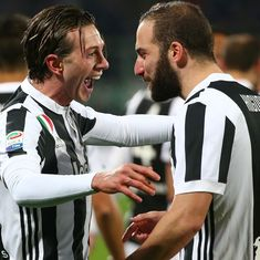 Higuain, Bernardeschi's goals put Juventus on top of Italian Serie A amid VAR fiasco