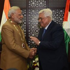 Narendra Modi says India hopes Palestine will soon become a free country