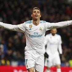 La Liga Roundup: Ronaldo hat-trick gives Real big win, Griezmann lifts Atletico