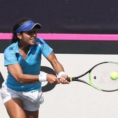 Indian tennis wrap: Ankita Raina reaches quarters in China, Vishnu Vardhan advances in Busan