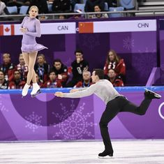 Skating and dating: The challenges of being both figure skater partners and real-life couple
