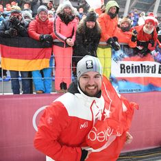Winter Olympics: Keshavan ends 34th, David Gleirscher wins luge gold after dramatic final run