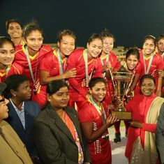 Hockey: Railways beat Madhya Pradesh 4-0 to win senior Women's National Championships