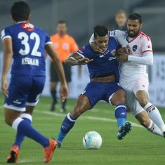 Indian Super League: Chennaiyin remain fourth after 1-1 stalemate with Delhi Dynamos