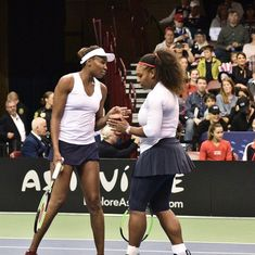 Fed Cup: Serena loses on long-awaited comeback but says she is on the 'right track'