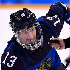 Meet Finland's Riikka Valila, the oldest women's ice hockey player in Olympic history