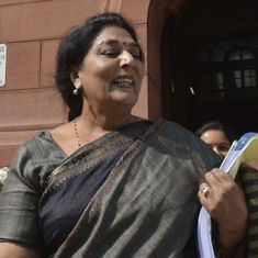 'Lose weight, increase that of the Congress': Venkaiah Naidu tells Renuka Chowdhury in Rajya Sabha