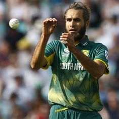 Tahir rested, Maharaj and Shamsi included for South Africa's ODIs against Sri Lanka