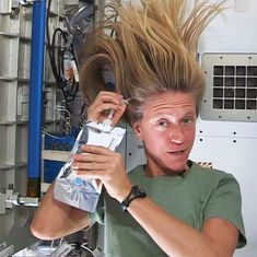 Video: How astronauts take care of their hair grooming needs while on mission in outer space