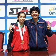 India paddler Suhana Saini claims gold at ITTF Oman Open