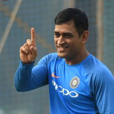 India's fielding coach wants Dhoni's 'successful' style of keeping to be subject of a research paper