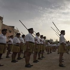 The Daily Fix: RSS boast that it could mobilise a militia is a sign of how violent India has become
