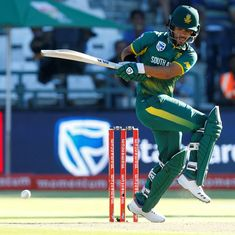 South Africa name JP Duminy captain for T20Is against India, include three new faces