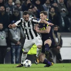 Christian Eriksen salvages 2-2 draw for Spurs after Gonzalo Higuain show in Turin