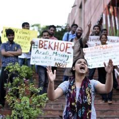 JNU Students' Union proposes to end lockdown caused by various protests over last few months
