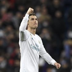 Champions League: Cristiano Ronaldo brace puts Real Madrid in driver's seat against PSG