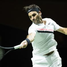 Federer rushes towards No 1 ranking with a 47-minute win over Bemelmans in Rotterdam Open