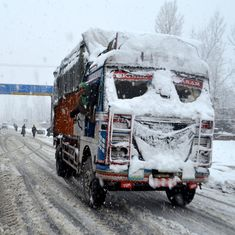 Jammu-Srinagar highway closed for fourth consecutive day after landslides