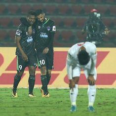 ISL: Kalu Uche's strike helps Delhi squeeze past NorthEast in the battle of basement teams