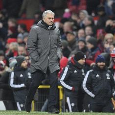 Jose Mourinho refuses to criticise Manchester United players prior to Huddersfield FA Cup tie