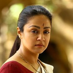 The movie 'Naachiyar' has many problems, but Jyothika isn't one of them