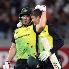Australia set new record, chase down 245 in roller-coaster T20I clash against New Zealand