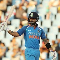 Sixth ODI, as it happened: It's 5-1 to India as Kohli smashes 35th ton in 8-wicket win
