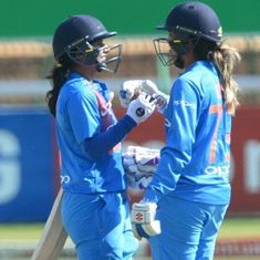 Mithali Raj, Smriti Mandhana fire India to nine-wicket win over South Africa in second T20I