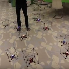 Here is a new use for LEGO bricks: controlling drones. Watch