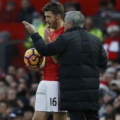 Man United need to sign midfielder to replace outgoing Michael Carrick, says Jose Mourinho